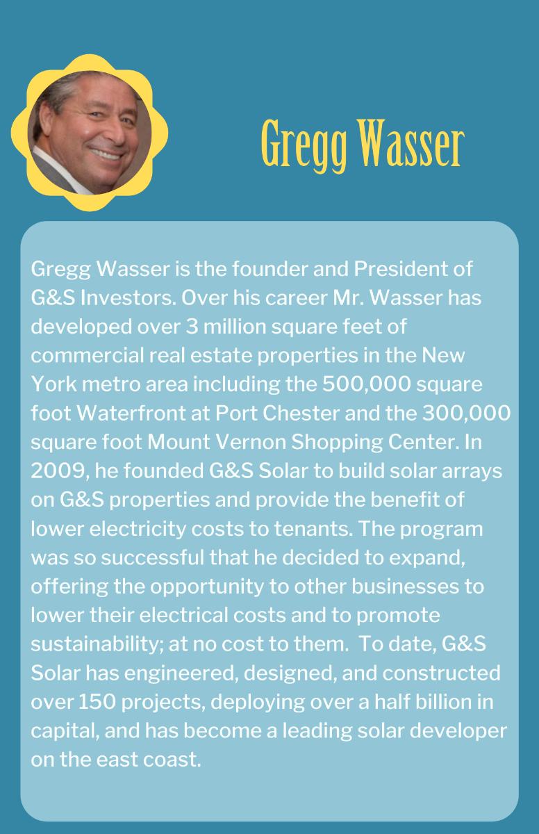 Gregg Wasser Bio