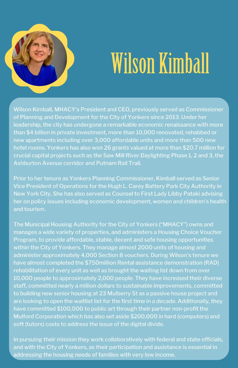 Wilson Kimball Bio